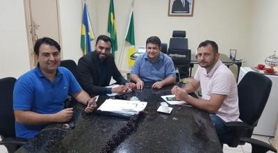 Reunião em Rolim de Moura define últimos ajustes para utilização de Mão de obra apenada na fabricação de manilhas, bloquetes e pães