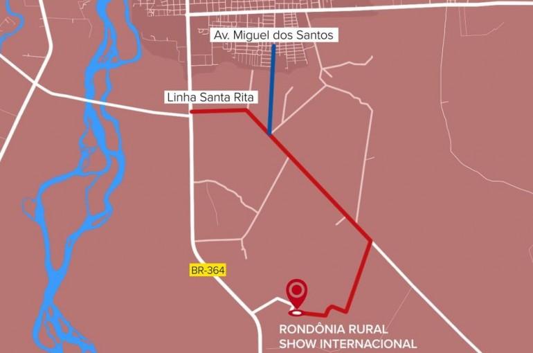 Rondônia Rural Show: veja rotas alternativas para fugir do congestionamento na BR-364