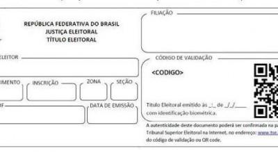 Título de eleitor terá QR Code no lugar de assinatura a partir de maio