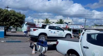Veículo da prefeitura de Mirante da Serra com pacientes é aprendido em blitz por IPVA atrasado