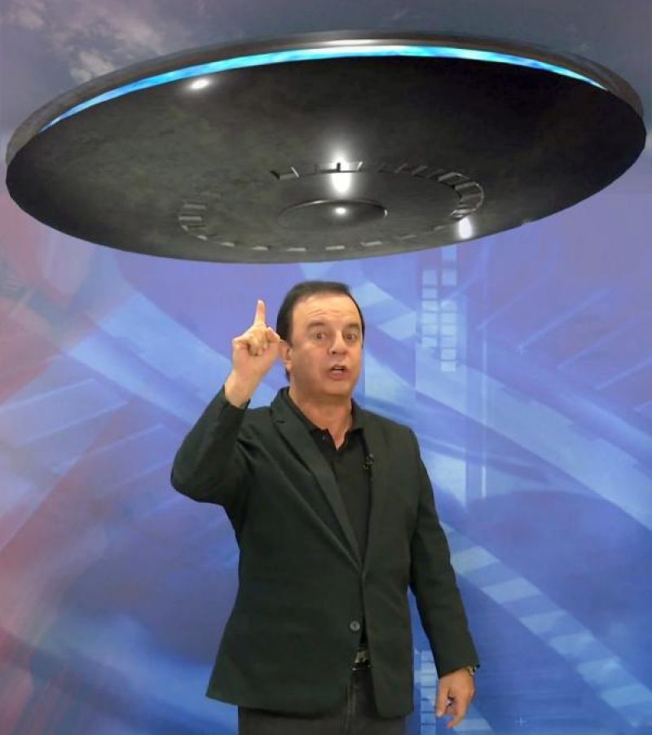 Empresário e comunicador Everton Leoni diz ter visto disco voador