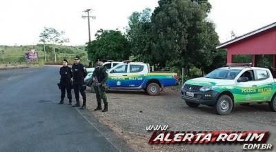 """Nova Brasilândia – Durante """"Operação Paz no Campo"""", Polícia Militar apreende armas de fogo e munições"""