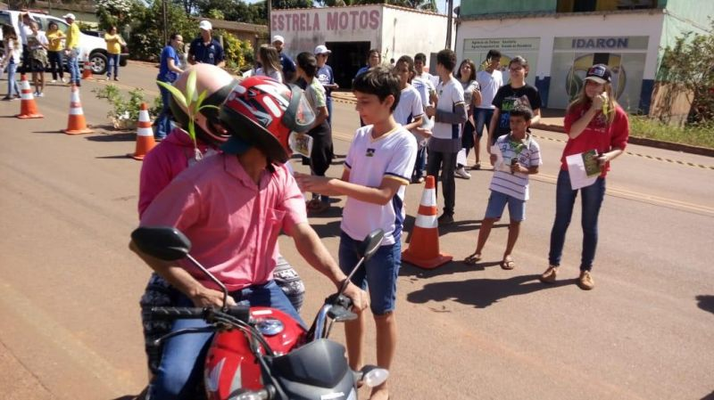 """Nova Estrela recebeu """"Blitz Ecológica"""" na semana do meio ambiente"""