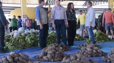Programa Estadual de Aquisição de Alimentos é lançado em Rondônia