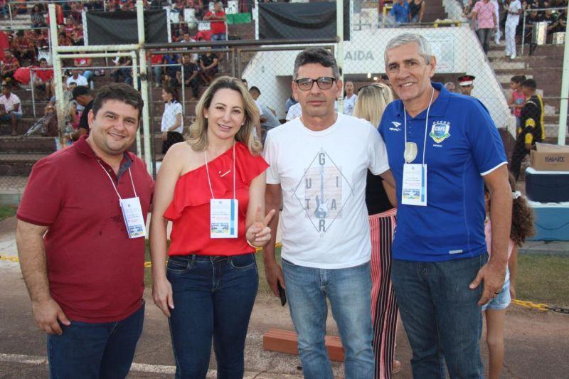 Rolim de Moura - Vice-prefeito Fabrício Melo prestigia o 3º Concurso de Bandas e Fanfarras