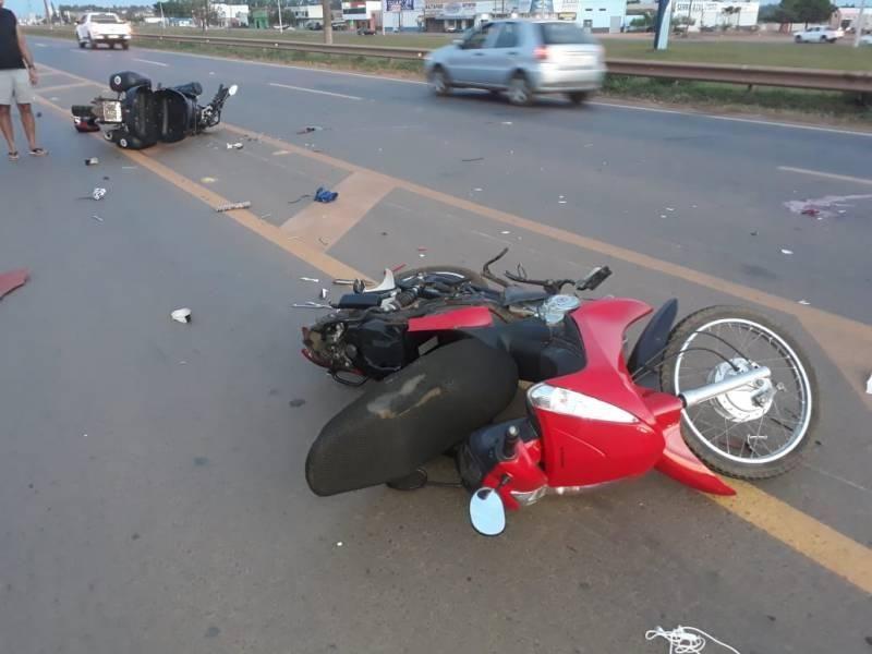 Sobrevivente de colisão entre motos que deixou um morto em Vilhena luta pela vida enquanto aguarda vaga em UTI de Cacoal