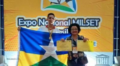 Aluno de Rondônia é convidado a integrar delegação brasileira em evento na Argentina