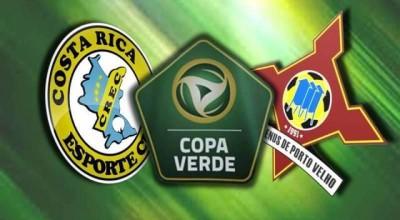 CBF promove modificações na partida Costa Rica-MS e Genus-RO pela primeira fase da Copa Verde
