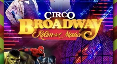 Circo em Rolim: 3 ingressos por 20 Reais