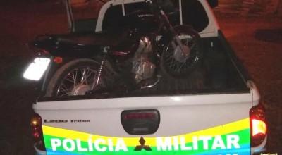 Em Rolim, motocicleta furtada no Espaço Alternativo é localizada abandonada