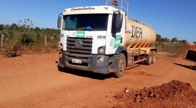 Governo agiliza estrada e atende moradores da Rodovia do Boi