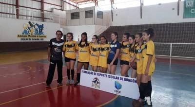 Handebol: Colégio Clarice Lispector vai representar Rondônia no Campeonato Brasileiro