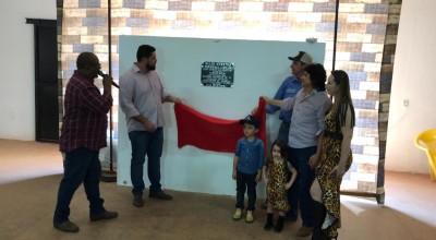 Jean Oliveira participa da inauguração do tatersal de leilões de Alta Floresta D'Oeste