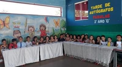 """Rolim de Moura - Escola Municipal Cora Coralina realizou o Projeto """"A Mágica da Leitura e da Escrita"""""""
