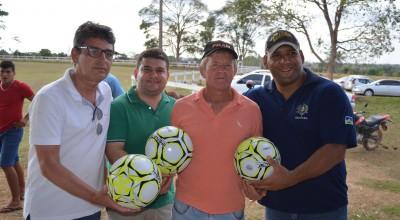 Rolim de Moura – Times dão pontapé inicial na 6ª Copa Integração de Futebol de Campo