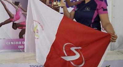 Rondoniense conquista três ouros no Torneio Regional de Ginástica Rítmica