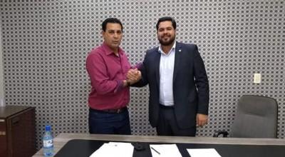 Vereador Aldo Julio agradece deputado Jean Oliveira por emenda para Copa Integração em Rolim de Moura