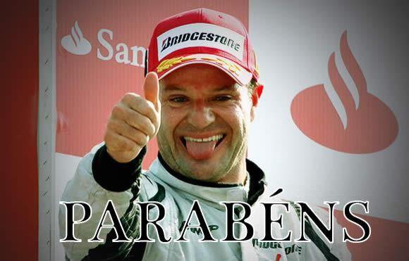 A lá Barrichello, aniversário de Castanheiras foi em fevereiro mas ...