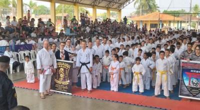 Academia Pequeno Dragão de Rolim de Moura conquista 81 medalhas na Copa Alvorada de Karate Interestilos