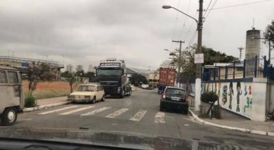 Aparelho usado por bandidos falha e carreta de vilhenense que havia sido roubada é recuperada em São Paulo