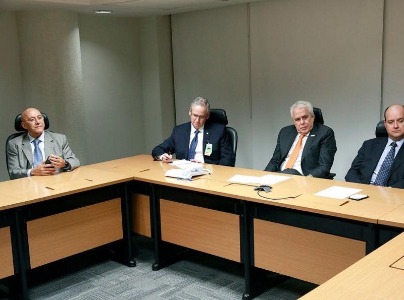 Bancada federal reúne com a direção da Petrobrás para debater a implantação de gasoduto até Porto Velho
