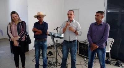 Deputado Lazinho da Fetagro prestigia Festa do Agricultor em Ji-Paraná