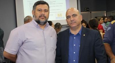 Dr Lauro agradece Superintendente da Sepat pelo lançamento do Programa Título Já em Rolim de Moura