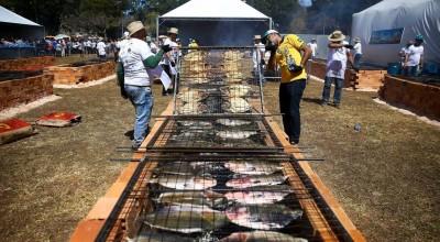 Festival do Tambaqui arrecada quase 4 mil quilos de alimentos