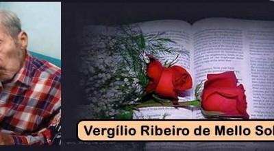 NOTA DE PESAR -  Nota de Pesar do deputado estadual Jean Oliveira no falecimento do Sr.  Vergílio Ribeiro de Mello Sobrinho
