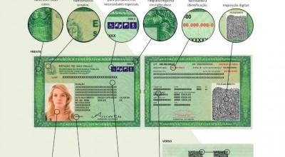 Nova carteira de identidade começa a ser emitida hoje em São Paulo