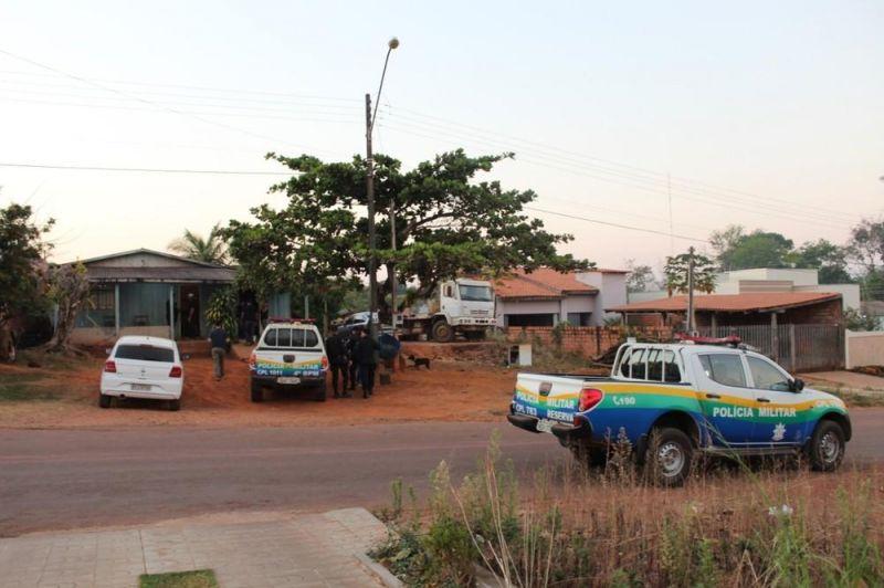 Operação Hefesto tenta prender suspeitos de incendiar caminhão do Ibama, em RO