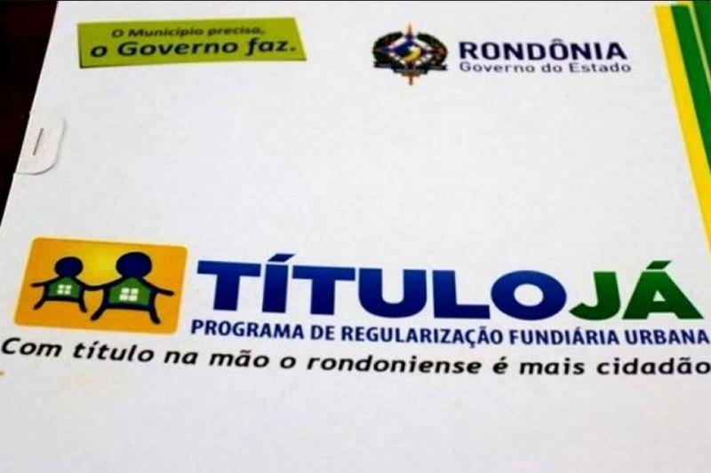 TITULO JÁ: Prefeitura de Rolim de Moura inicia distribuição de senhas para atender famílias que desejam regularizar lotes urbanos