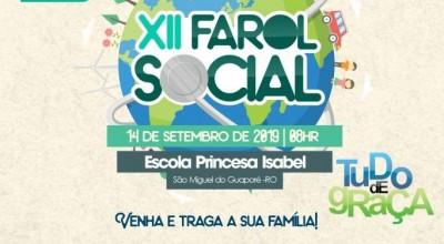 XII FAROL Social será em São Miguel do Guaporé