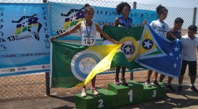 Atletismo de Rolim de Moura garante medalha de Ouro no arremesso de disco no JIR