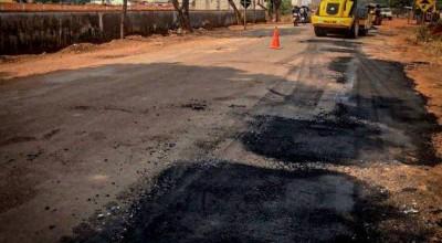 Governo de Rondônia inicia recuperação da Rodovia do Café em Cacoal
