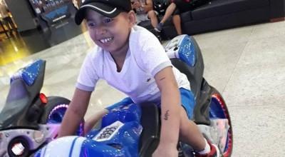 Morre aos 9 anos o garoto Ramon Feitosa Mariano Araújo, morador de Theobroma que há 2 anos lutava contra o câncer