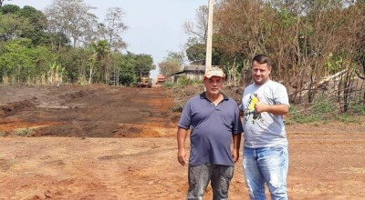 Prefeitura de Rolim de Moura atende pedido do vereador Uender Nogueira e abre a rua Rui Barbosa