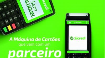 Sicredi se fortalece no mercado de máquinas de cartões com o lançamento da Máquina Compacta