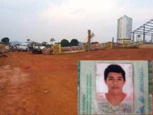 Veja detalhes do acidente que tirou a vida de jovem que trabalhava na construção de um secador em Cabixi