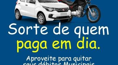 90% de desconto em juros e multas nos débitos com a Prefeitura já estão disponíveis para os moradores de Rolim de Moura