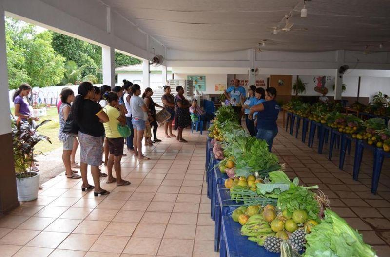 CESTAS VERDES: Prefeitura de Rolim de Moura distribui alimentos para famílias do Bairro Boa Esperança