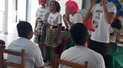 DIA DAS CRIANÇAS: Instituições realizam atividades na Casa da Criança em Rolim de Moura