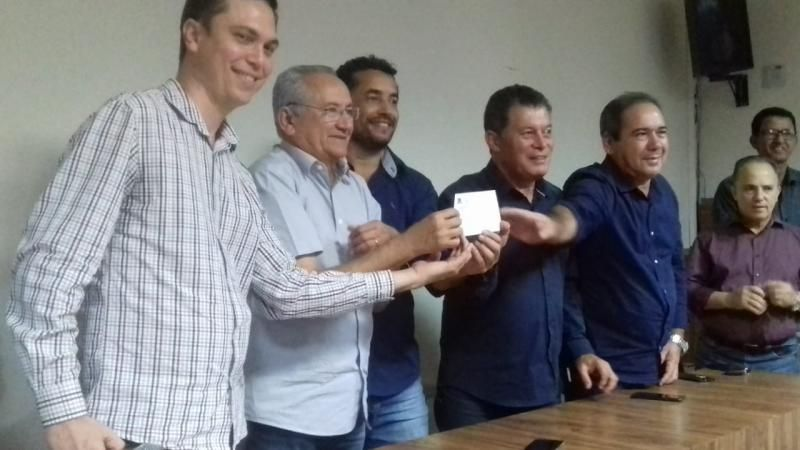 ISAÚ FONSECA FILIA AO MDB de Ji-Paraná