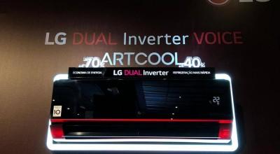 LG lança a linha DUAL Inverter VOICE, ar-condicionado Wi-Fi que economiza luz