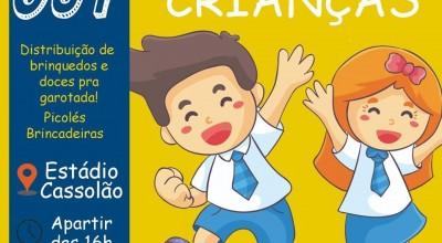 Prefeitura de Rolim de Moura distribuirá 5 mil brinquedos e doces para as crianças