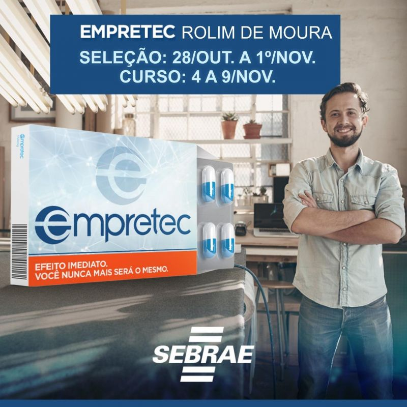 RolIm de Moura terá Empretec em novembro