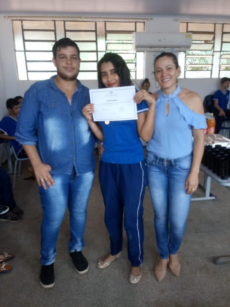 Meio Ambiente: Acadêmico da Unir Campus de Rolim se destaca em projeto