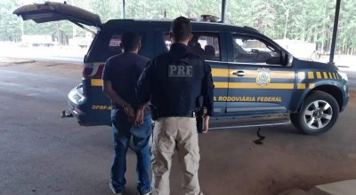 Morador de Roraima é preso pela PRF em Vilhena transportando 2,3 kg de maconha; droga seria entregue na rodoviária de Cuiabá
