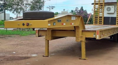 Prefeitura de Rolim de Moura adquiri Carreta Prancha para transporte de máquinas pesadas