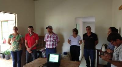 Produtores de Rolim de Moura recebem capacitação sobre inseminação artificial